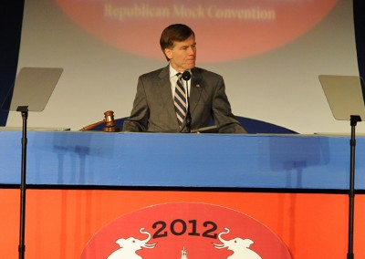 Where everyone asks to get involved: The 2012 Mock Convention